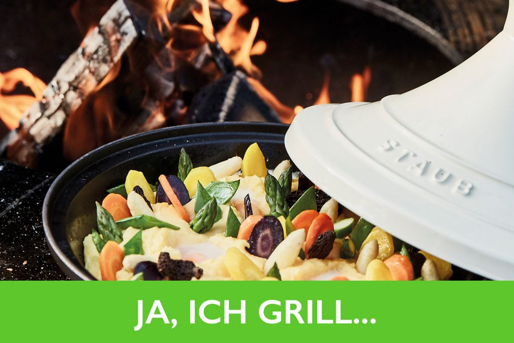 Vegetarisch grillen, Ja, ich Grill! Vegetarische Beilagen